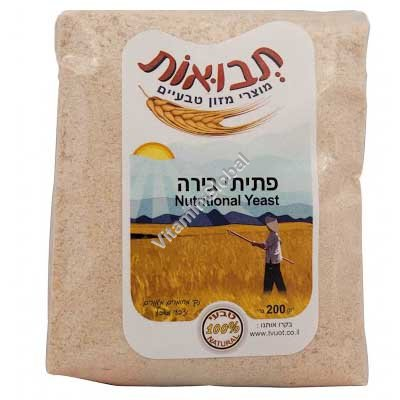 Nutritional Yeast Flakes 200g - Tvuot