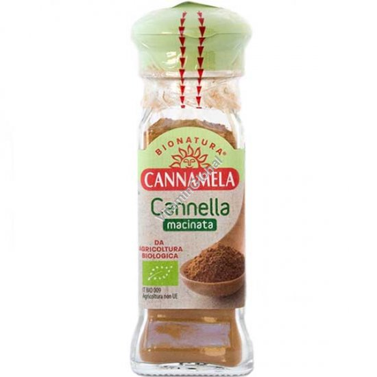 Organic Ground Cinnamon 42g - Cannamela