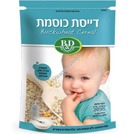 Buckwheat Cereal for Babies Enriched with Vitamins and Minerals 200g - Better & Different