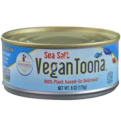 Vegan Sea Salt Toona - 170g (6 OZ) - Sophie\'s