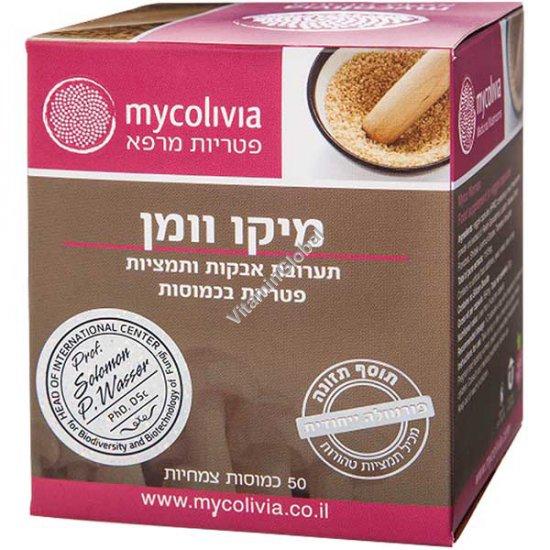 Myco Women Complex for anti-fungal infections 50 Vegicaps - Mycolivia