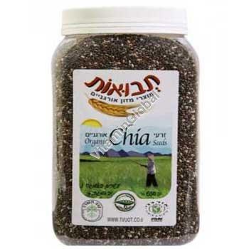 Organic Chia Seeds 650g - Tvuot