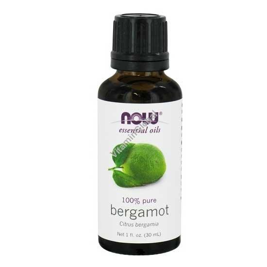 Bergamot Pure Essential Oil 30 ml - Now Foods