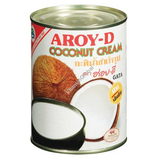 Coconut Cream 400 ml - Aroy-D