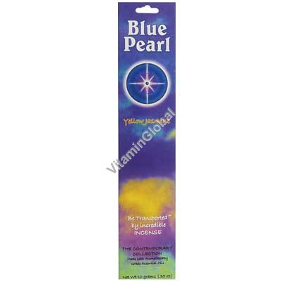 Yellow Jasmine Natural Incense Sticks 10g - Blue Pearl