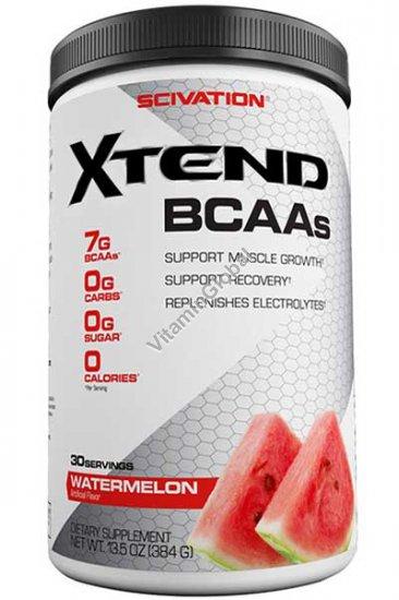 Xtend, BCAAs, Watermelon 13.5 oz (384g) - Scivation