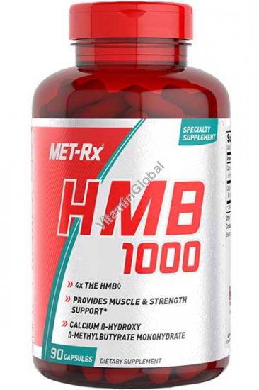 HMB 1000mg 90 capsules - MET-Rx