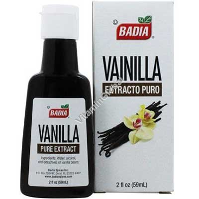 Vanilla Pure Extract 59 ml - Badia