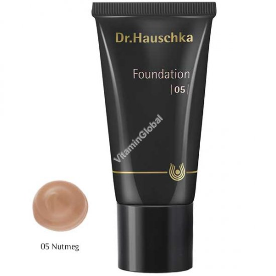 Foundation 05 - Nutmeg 30 ml (1.00 fl oz) - Dr. Hauschka