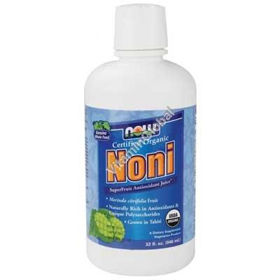 Organic Noni Juice 946ml - Now Foods
