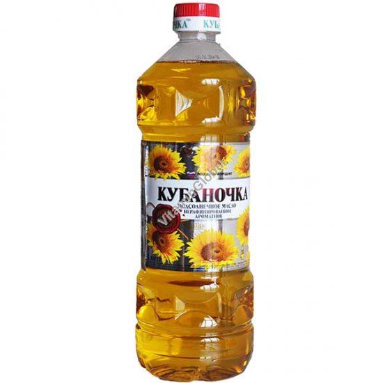 Unrefined Winterizede Sunflower Oil 1L - Kubanochka