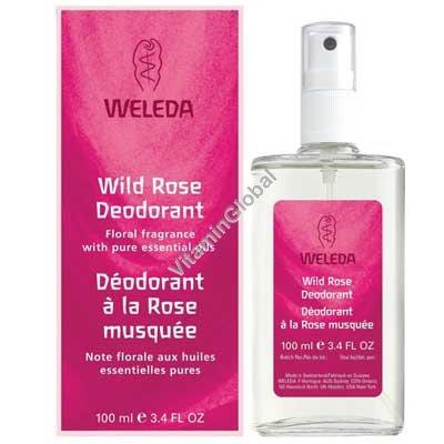 Wild Rose Deodorant 100ml - Weleda