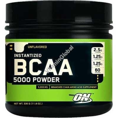 BCAA 5000 Powder 345g - Optimum Nutrition