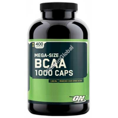 BCAA 1000 mg 400 Capsules - Optimum Nutrition