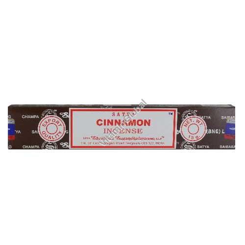 Cinnamon Hand-Rolled Incense 15g - Satya