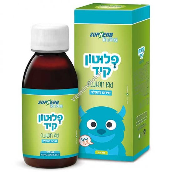 Flutone Kid Syrup - natural cough remedy 200 ml - SupHerb