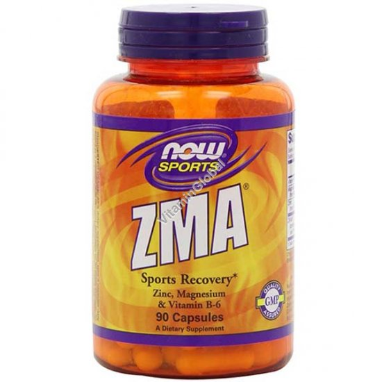 ZMA Sports Recovery 90 capsules - Now Foods