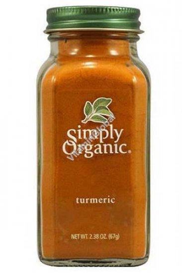 Organic Turmeric Powder 67g (2.38 OZ) - Simply Organic