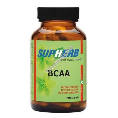 BCAA 90 capsules - SupHerb