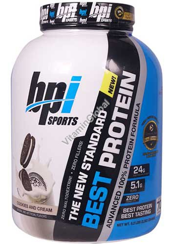 Best Protein Cookies and Cream Flavor 2.363 grams - BPI Sports