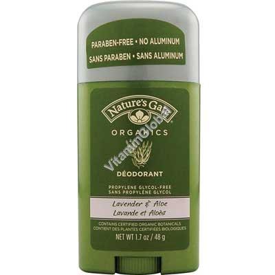 Deodorant Lavender & Aloe Vera 48 g - Nature\'s Gate