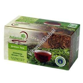Chinese Green Tea 20 teabags - Adanim