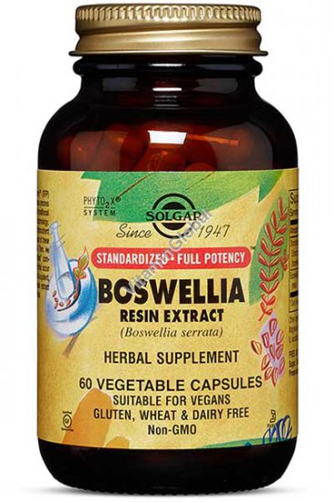 Standardized Boswellia Extract 60 capsules - Solgar