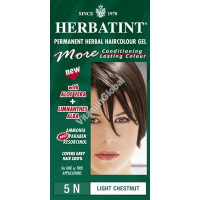 Permanent Haircolour Light Chestnut 5N - Herbatint
