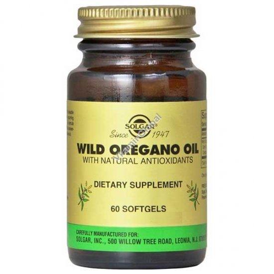 Wild Oregano Oil 60 Softgels - Solgar