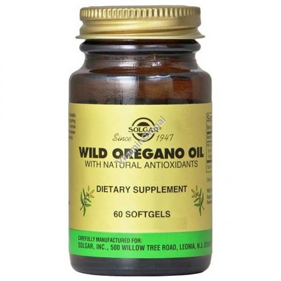 Wild Oregano Oil 60 Softgels - Solgar