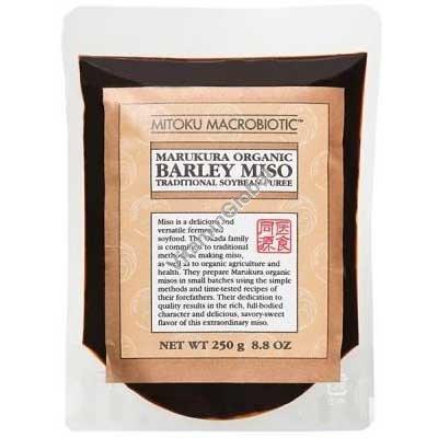 Organic Marukura Barley Miso 250g - Mitoku