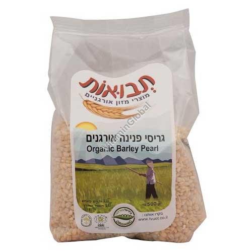 Organic Barley Pearl 500g - Tvuot
