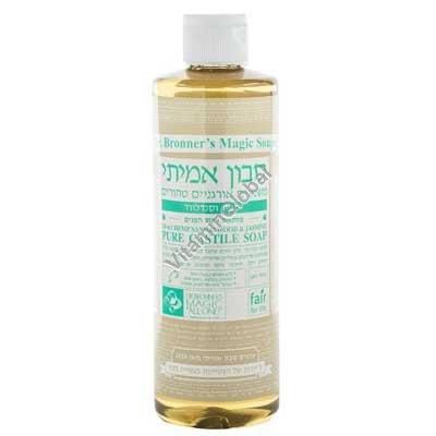 Hemp Sandalwood & Jasmine Pure Castile Liquid Soap 472ml (16 fl oz) - Dr. Bronner