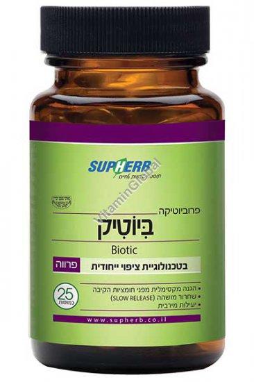 Biotic - A probiotic formula for preventing damage by antibiotics 25 capsules - SupHerb