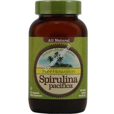 Pure Hawaiian Spirulina 500 mg 400 tabs - Nutrex