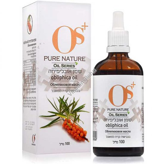 Cold Pressed Pure Sea Buckthorn Oil 100ml - OS+
