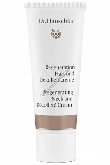 Regenerating Neck and Decollete Cream 40 ml - Dr. Hauschka