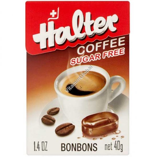 Sugar Free Coffee Bonbons 40g - Halter