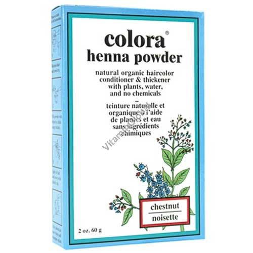 Henna Powder Chestnut 60g (2 oz.) - Colora