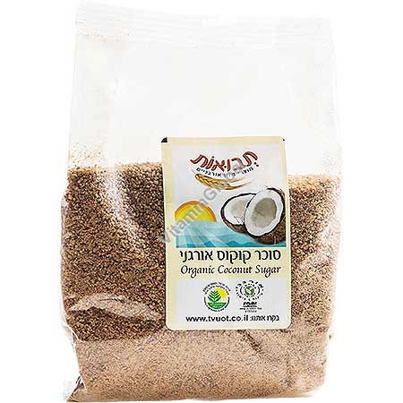 Organic Coconut Sugar 300g - Tvuot
