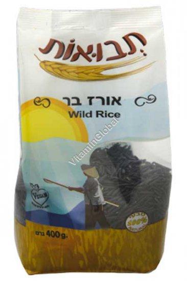 Kosher Badatz Long Grain Wild Rice 400g - Tvuot