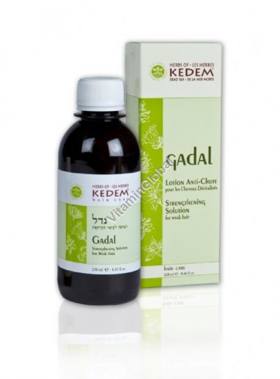 Gadal - Hair Care Solution 250 ml - Herbs of Kedem