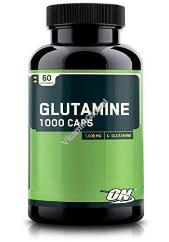 Glutamine 1000 mg 60 capsules - Optimum Nutrition