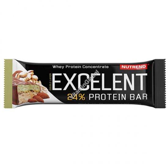 Excelent Protein Bar Almond-Pistachio Flavour with Pistachios 85g - Nutrend