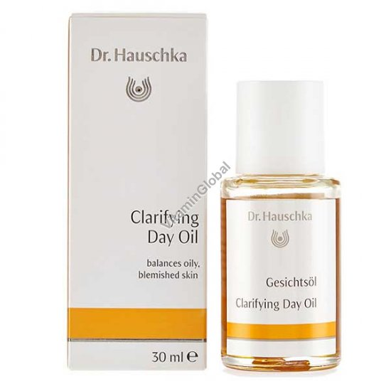 Clarifying Day Oil balances oily, blemished skin 30ml - Dr. Hauschka