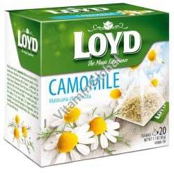 Chamomile Tea 20 pyramid tea bags - Loyd