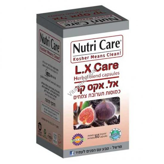 L.X Laxi Care for the prevention and treatment of constipation 60 caps - Nutri Care