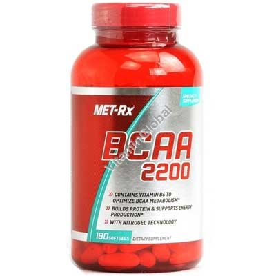BCAA 2200 180 softgels - MET-Rx