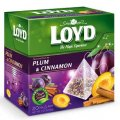 Plum & Cinnamon Fruit Tea 20 pyramid tea bags - Loyd
