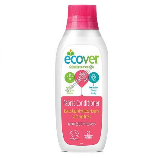 "Ecological Fabric Conditioner ""Amongst the flowers"" 750ml - Ecover"